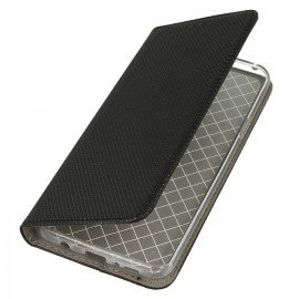 Etui portfelik z klapką magnet book Samsung Galaxy S9 plus czarny