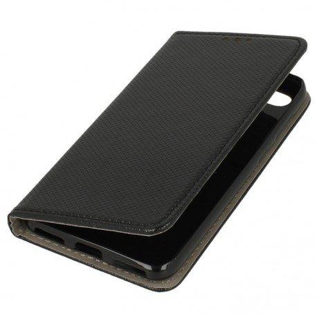 Etui z klapką Huawei P Smart czarny