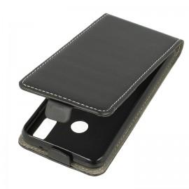 Etui kabura pionowa z klapką Huawei P20 Lite czarna
