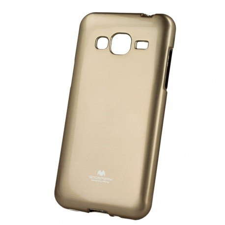 Etui na telefon Jelly Case do Samsung Galaxy J5 2016 J510F złoty