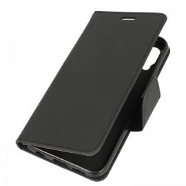 Etui boczne z klapką na Huawei P20 Lite czarny