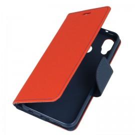 Etui portfelik na Huawei P20 Lite czerwony