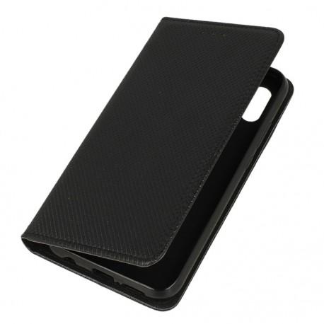 Etui portfelowe z funkcją podstawki Huawei P20 Lite czarny