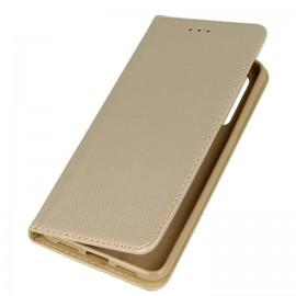 Etui portfelowe z funkcją podstawki Huawei P20 Pro złoty
