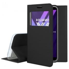 Etui S-View z funkcją podstawki do Huawei P9 Lite mini czarny