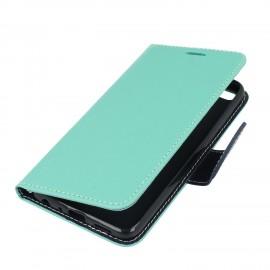 Etui portfelowe Fancy na telefon Motorola Moto G5s miętowy