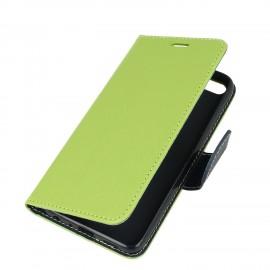 Etui portfelowe Fancy na telefon Motorola Moto G5s limonka