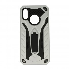Pancerne etui case armor silver Huawei P20 Lite