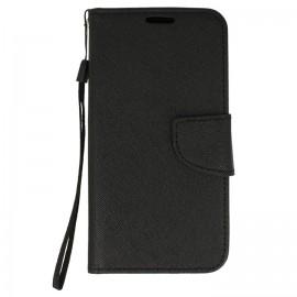 Etui portfelowe Fancy Samsung Galaxy A6+ plus czarny