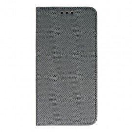 Etui boczne z klapką magnet book Samsung Galaxy J5 2016 J510F grafitowy
