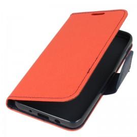 Etui portfelik czerwony na SAMSUNG GALAXY J6