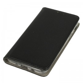 Etui portfelowe magnet czarne SAMSUNG GALAXY J6