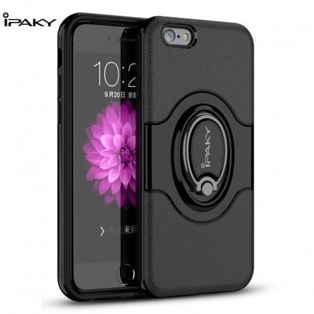 Etui IPAKY Ring iPhone 6 czarny