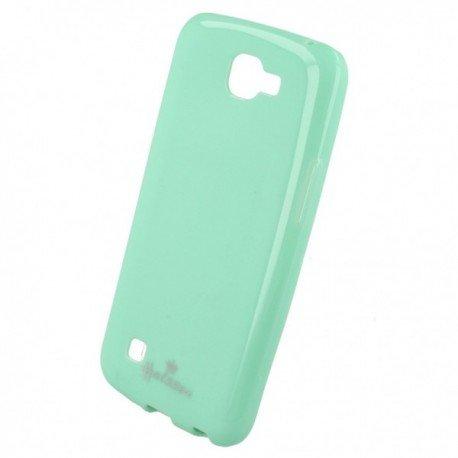 Etui na telefon Halssen Case do LG K4 LT K130e miętowy