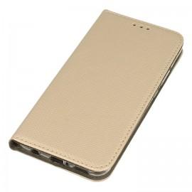 Etui magnet book złoty na Huawei Mate 20 Lite