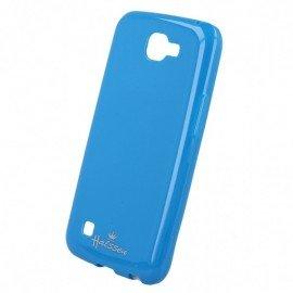 Etui na telefon Halssen Case do LG K4 LT K130e niebieski
