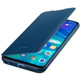 Oryginalne etui Wallet Cover niebieski do Huawei P Smart 2019