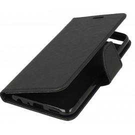 Etui portfelik Fancy na telefon Huawei Honor 7A czarny