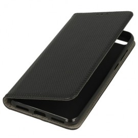 Etui boczne z klapką Huawei Honor 7A czarny