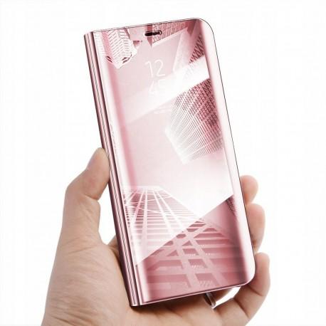 Etui clear mirror SAMSUNG GALAXY A50 różowy