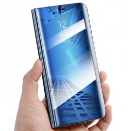 Etui mirror SAMSUNG GALAXY A40 niebieski
