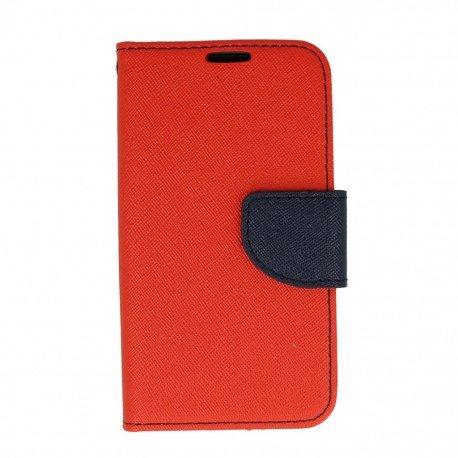 Etui portfelowe Fancy na telefon LG K4 LTE K130e czerwony