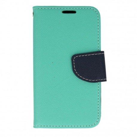 Etui portfelowe Fancy na telefon LG K4 LTE K130e miętowy