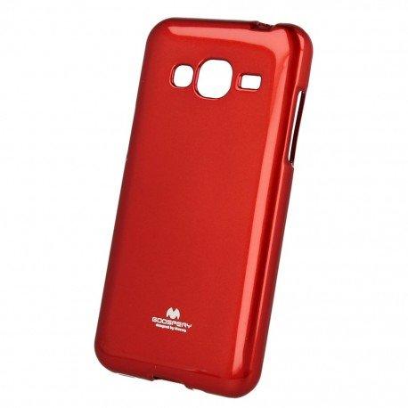 Etui na telefon Jelly Case Samsung Galaxy J7 2016 J710F czerwony