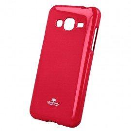 Etui na telefon Jelly Case Samsung Galaxy J7 2016 J710F różowy