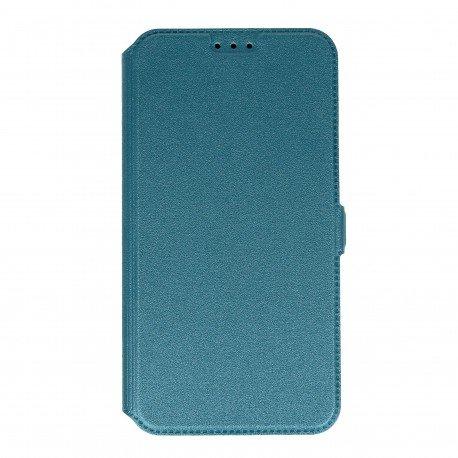 Etui na telefon Pocket Book na Samsung Galaxy J7 2016 J710F niebieski