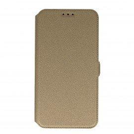 Etui na telefon Pocket Book na Samsung Galaxy J7 2016 J710F złoty