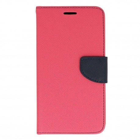 Etui portfelowe Fancy na telefon Samsung Galaxy J7 2016 J710F różowy