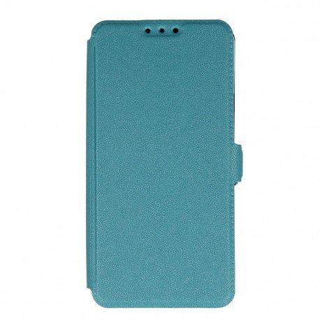 Etui na telefon Pocket Book na Samsung Galaxy A3 2016 A310F niebieski