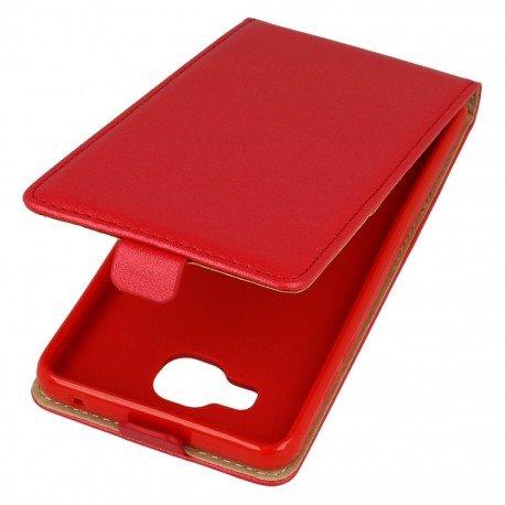 Etui z klapką Flexi do telefonu Samsung Galaxy A5 2016 A510F czerwony