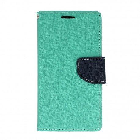Etui portfelowe Fancy na telefon Samsung Galaxy A5 2016 A510F miętowy