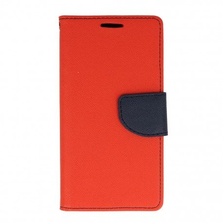 Etui portfelowe Fancy na telefon Samsung Galaxy A5 2016 A510F czerwony
