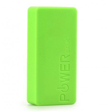 Kompaktowy Power Bank 5600 mAh ładowarka do telefonu zielony