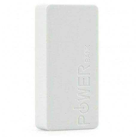 Kompaktowy Power Bank 5600 mAh ładowarka do telefonu biała