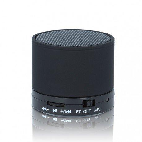 Multimedialny głośnik Bluetooth BS-100 do telefonu czarny