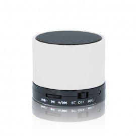 Multimedialny głośnik Bluetooth BS-100 do telefonu biały