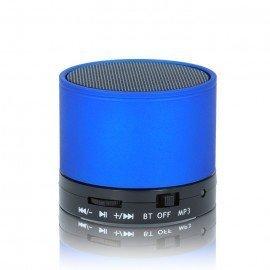 Multimedialny głośnik Bluetooth BS-100 niebieski do telefonu