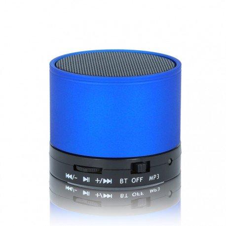 Multimedialny głośnik Bluetooth BS-100 do telefonu niebieski