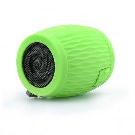Multimedialny głośnik Bluetooth Beczka do telefonu zielony