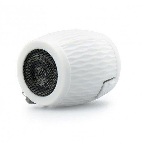 Multimedialny głośnik Bluetooth Beczka do telefonu biały