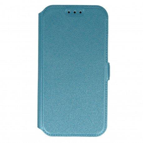 Etui na telefon Pocket Book na Samsung Galaxy A3 2017 A 320F niebieski