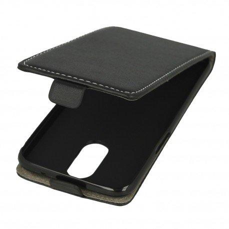 Etui z klapką Flexi do telefonu LG K8 2017 czarny