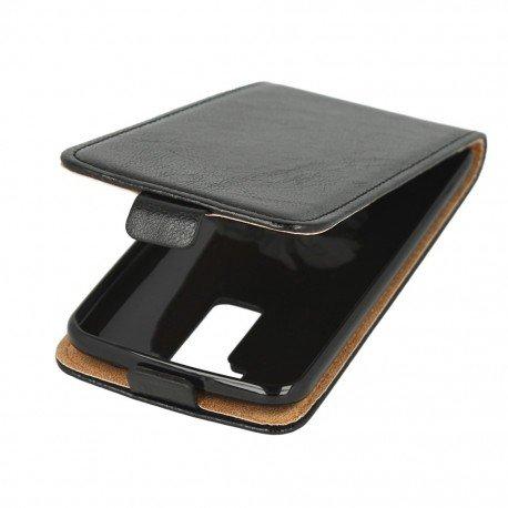Etui z klapką Flexi do telefonu LG K8 K350N czarny