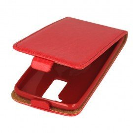 Etui z klapką Flexi do telefonu LG K8 K350N czerwony