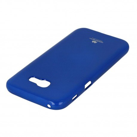 Etui na telefon Jelly Case do Samsung Galaxy A5 2017 A520F granatowy