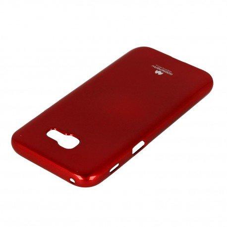 Etui na telefon Jelly Case do Samsung Galaxy A5 2017 A520F czerwony